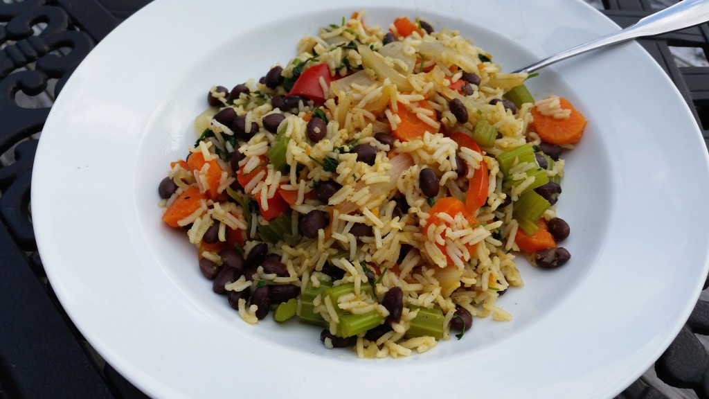 gallo pinto vegan