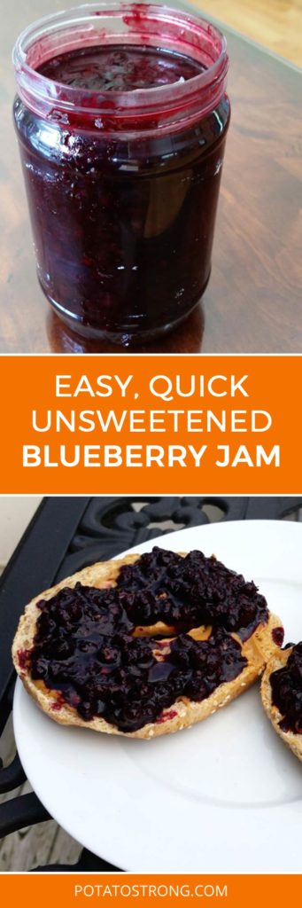 easy unsweetened jam