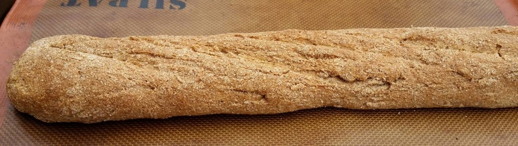whole wheat baguette