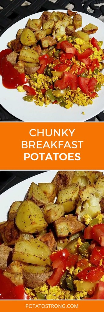 Chunky breakfast potatoes no oil