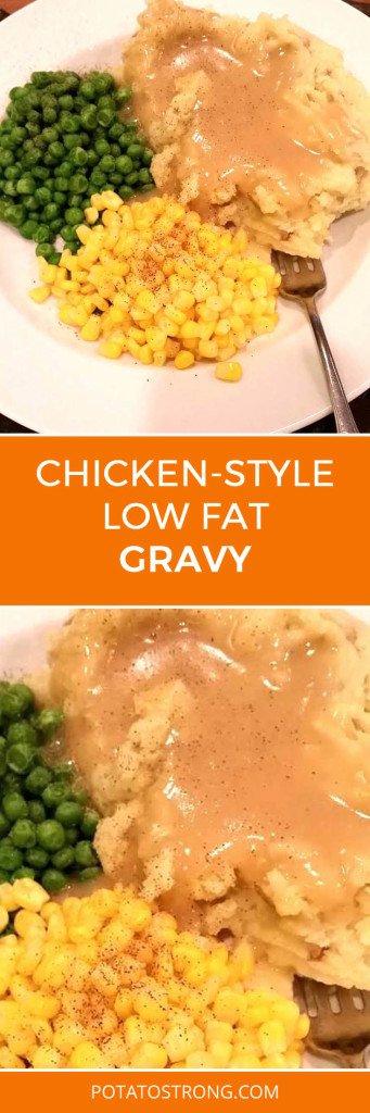 Chicken-style gravy vegan no oil