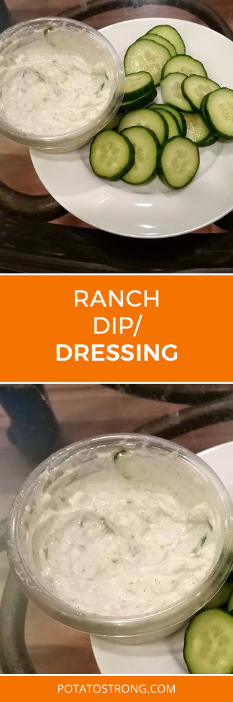 Ranch dip/dressing vegan no oil