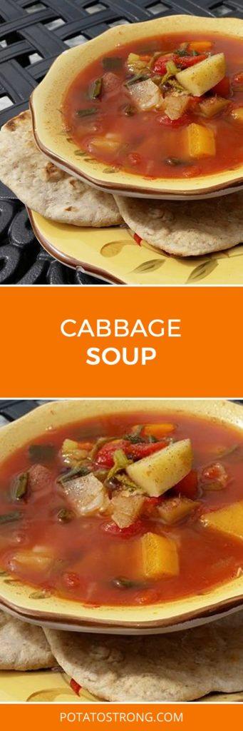 Cabbage soup vegan no oil