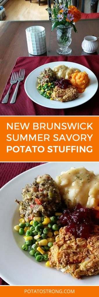Summer Savory Stuffing Vegan No Oil