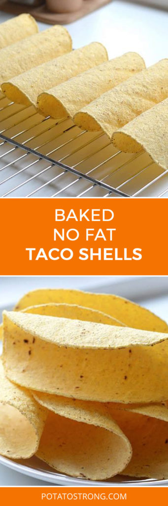 Baked Taco Shells No Oil